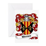 Werner Coat of Arms Greeting Cards (Pk of 10)