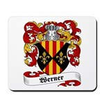Werner Coat of Arms Mousepad