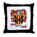 Werner Coat of Arms Throw Pillow