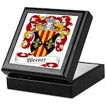 Werner Coat of Arms Keepsake Box