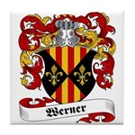 Werner Coat of Arms Tile Coaster