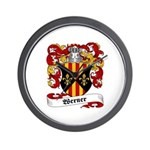 Werner Coat of Arms Wall Clock