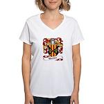Werner Coat of Arms Women's V-Neck T-Shirt