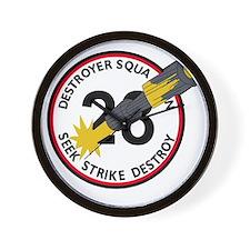 DESRON 28 US NAVY Destroyer Squadron Mi Wall Clock