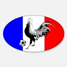 French Football Flag Decal