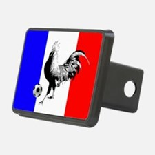 French Football Flag Hitch Cover