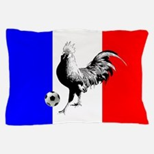 French Football Flag Pillow Case
