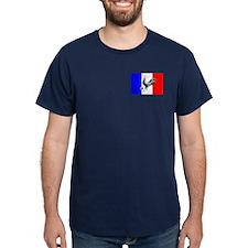 French Football Flag T-Shirt
