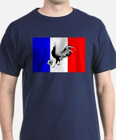 French Football Flag T-Shirt
