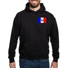 French Football Flag Hoodie