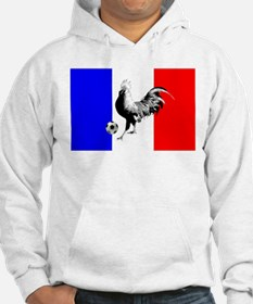 French Football Flag Hoodie