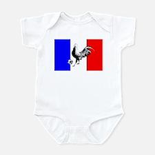 French Football Flag Infant Bodysuit