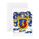 Wendt Coat of Arms Greeting Cards (Pk of 10)