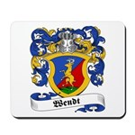 Wendt Coat of Arms Mousepad