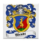 Wendt Coat of Arms Tile Coaster