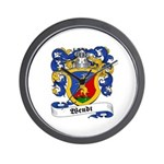 Wendt Coat of Arms Wall Clock