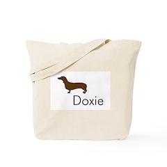 Doxie Dachshund Dog Tote Bag
