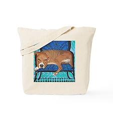 Mouse PitBull Tote Bag