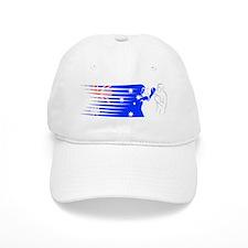 BoxingDesign AUSTRALIA White Baseball Cap