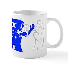 BoxingDesign AUSTRALIA White Mug