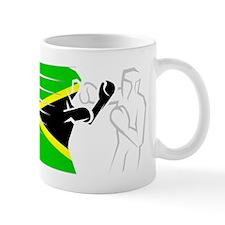 BoxingDesign JAMAICA White Mug