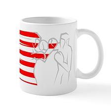 BoxingDesign USA White Mug