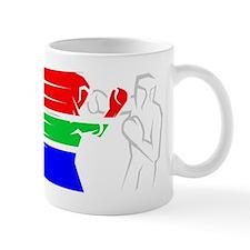 BoxingDesign SOUTH AFRICA White Mug