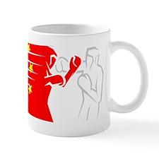 BoxingDesign CHINA White Mug