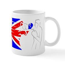 BoxingDesign UK White Mug