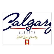 Calgary Script W Postcards (Package of 8)