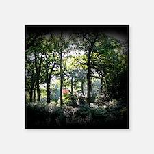 "Woods1537 Square Sticker 3"" x 3"""
