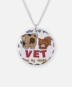 I want to be a vet Necklace
