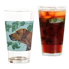 SQ RhodesianRidgeback Drinking Glass