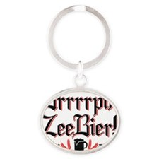 BrrpBIER-B Oval Keychain