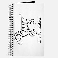 Z is for Zebra Journal
