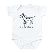 Z is for Zebra Infant Bodysuit