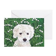 MouseLite DoxieDoodle Greeting Card