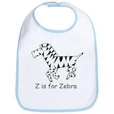 Z is for Zebra Bib