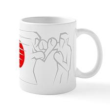 BoxingDesign JAPAN White Mug