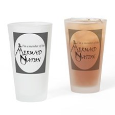 mn_logo_draft_v1_002 Drinking Glass