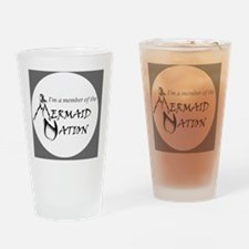 mn_logo_draft_v1_002 Drinking Glass