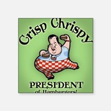 "christie-burg-BUT Square Sticker 3"" x 3"""