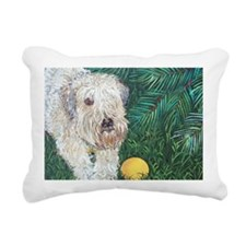 Mouse Wheaten Rectangular Canvas Pillow