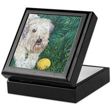 Mouse Wheaten Keepsake Box