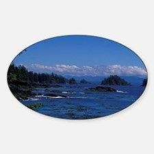 Rocky beach and tide poolsVancouver Decal
