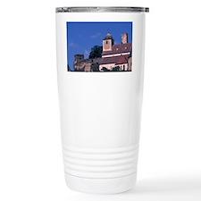 Europe, Prague, castle on hill Travel Mug