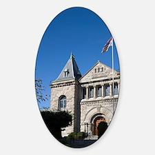 Vancouver Island Sticker (Oval)