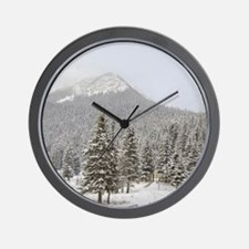 Canada, Alberta, Lake Louise. Farimont  Wall Clock