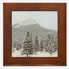 Canada, Alberta, Lake Louise. Farimont Framed Tile