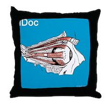 idoc-bsq Throw Pillow